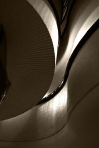 2015 torres blancas detalle de escalera intyerior