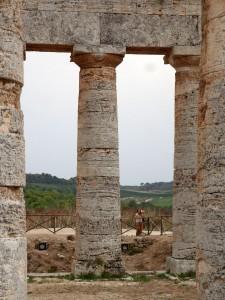Agrigento templo y Silvia