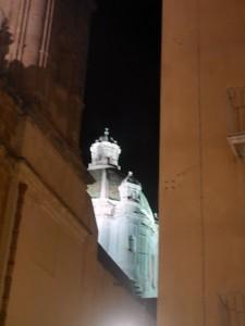 trapani cupula entre edificios
