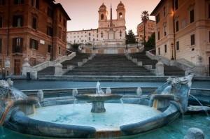 bach y la musica escalinata piazza españa