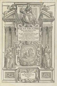 pall portada de los cuatro libros de la arquitectura