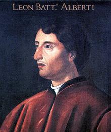 pall retrato de Leone Batista Alberti