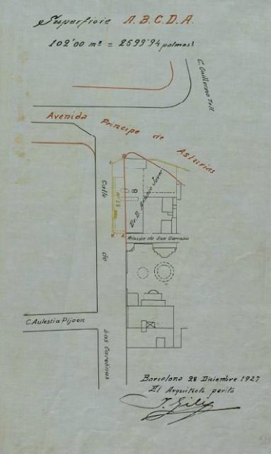 Esta imagen tiene un atributo ALT vacío; su nombre de archivo es 1927-rectificación-de-los-límites-de-la-calle-Carolinas-y-de-la-Avenida-Príncipe-de-Asturias-Archivo-Histórico-de-Barcelona.jpg